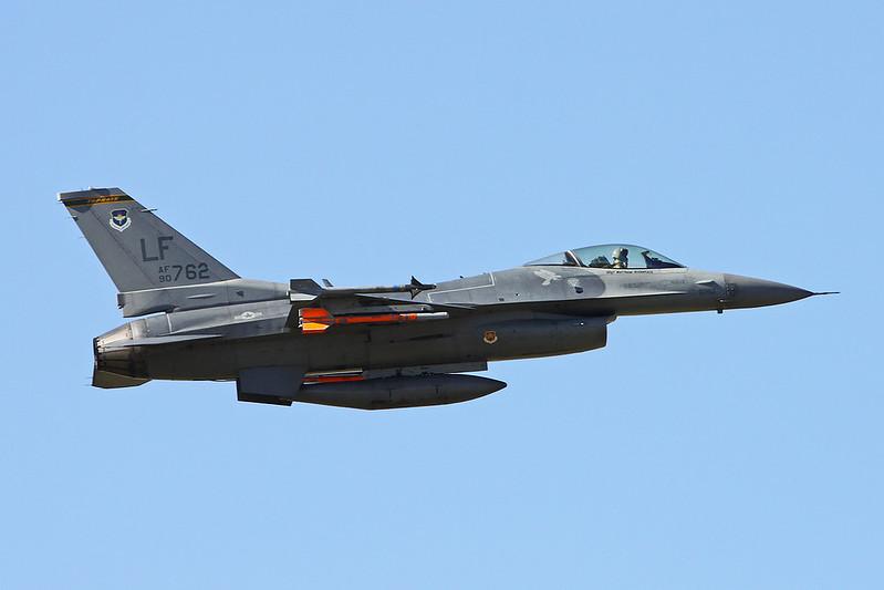 """90-0762 (LF) General Dynamics F-16CG Fighting Falcon """"United States Air Force"""" c/n 1C-370 Luke/KLUF/LUF 15-11-16"""
