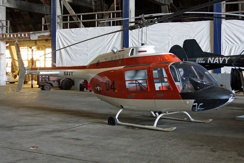 157363 (E-04) Bell Helicopters TH-57A Sea Ranger c/n 5009 Tillamook/KTMK/TMK 09-05-09