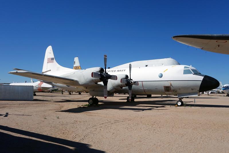 150511 Lockheed VP-3A Orion c/n 5037 Pima/14-11-16