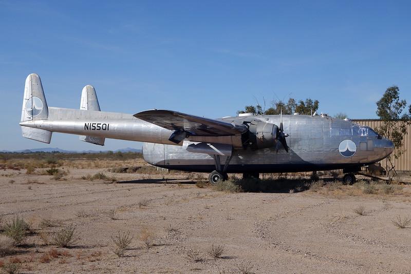 N15501 Fairchild C-119F Boxcar c/n 10955 Buckeye Municipal/KBXK/BXK 28-01-18
