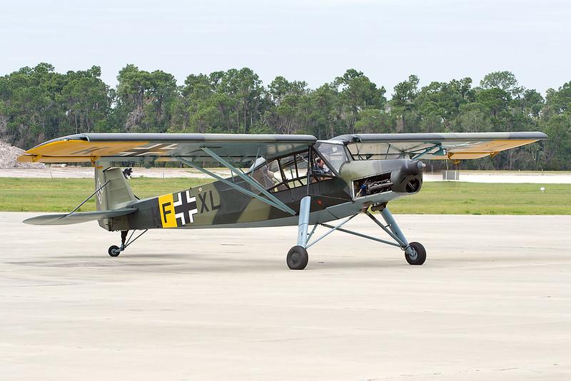 N156FS (KF+XL) Fieseler Fi.156 C-3 Storch c/n 110064 Polk City 20-02-18