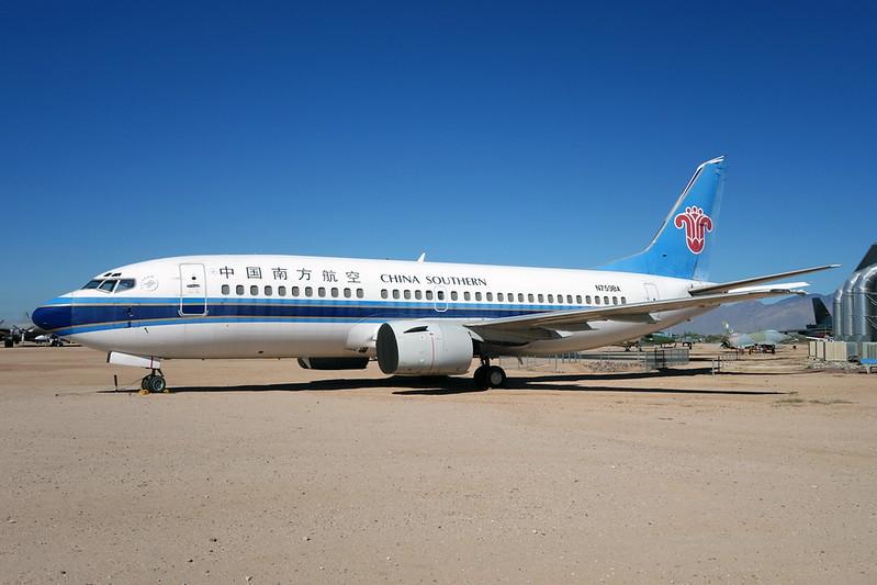 N759BA Boeing 737-3Q8 c/n 27286 Pima/14-11-16
