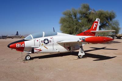 157050 (814/F) North American T-2C Buckeye c/n 332-21 Pima 29-01-18