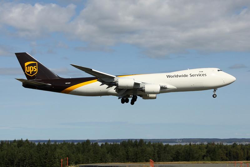 N615UP Boeing 747-8F c/n 64261 Anchorage-International/PANC/ANC 07-08-19