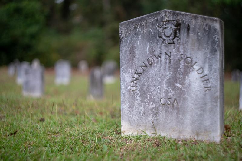 Unknown confederate soldier.