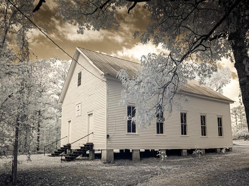 Ivey's Chapel Church, Sprott, Alabama...a Perry County Historic Landmark.