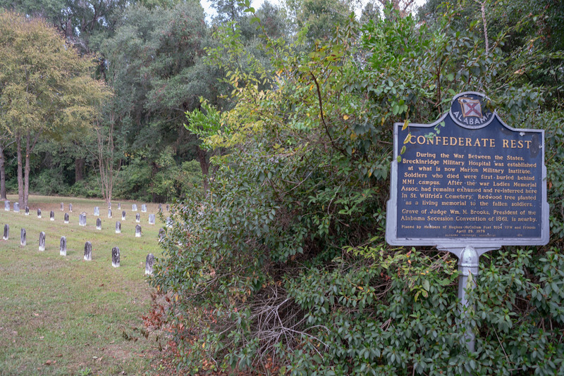 A local guy recommended we check out the Confederate cemetery.