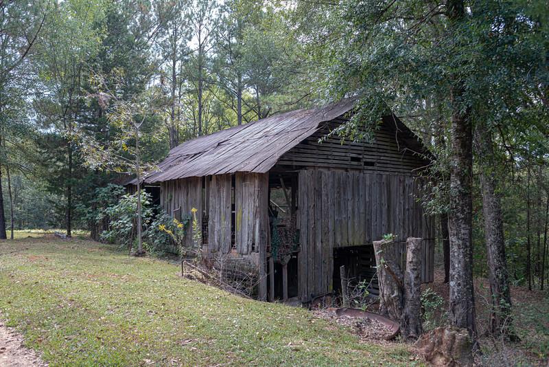 Barn at the old Sprott farm.