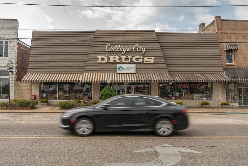 The drugstore.