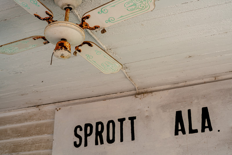 The famous Sprott Crossroads Store.