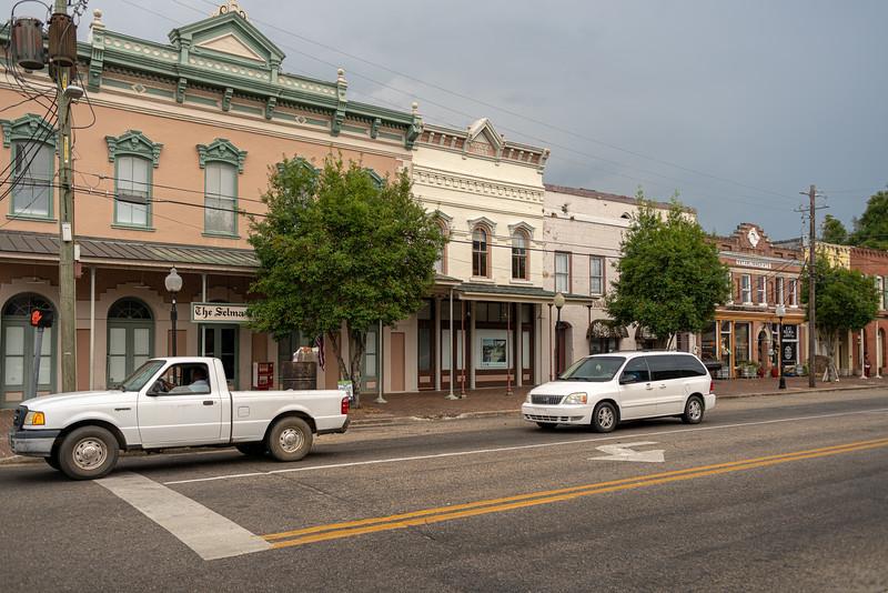 Buildings in downtown Selma.
