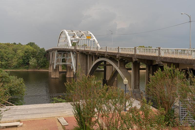 The infamous Edmund Pettus Bridge.