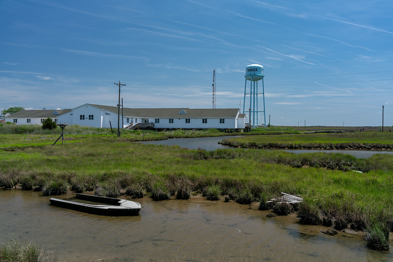 "The ""combined school."" At high tide there is water under the school."
