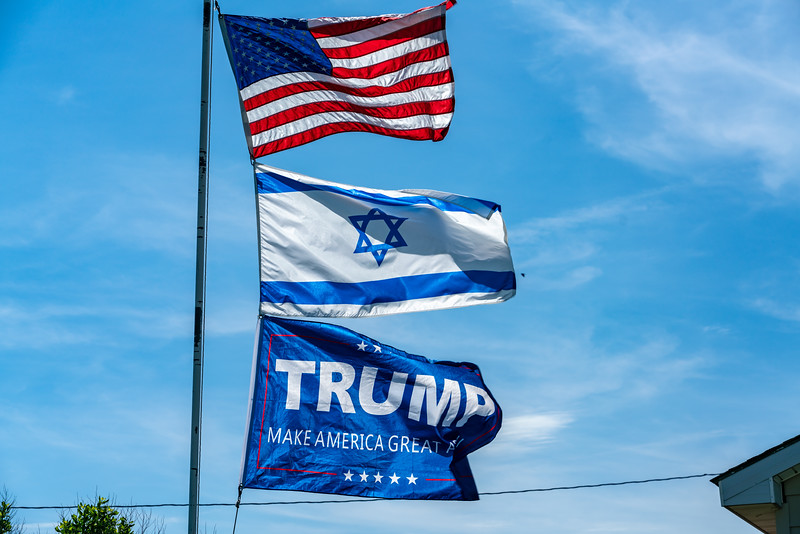 "This is just about the ""Trumpiest,"" most pro-Israel place I have ever seen."