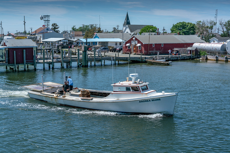 Andrea Marie, deadrise boat.