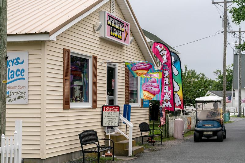 Spanky's Place Ice Cream.