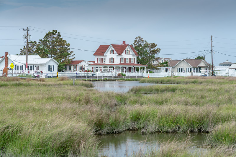 The Bay View Inn from Wallace Road.