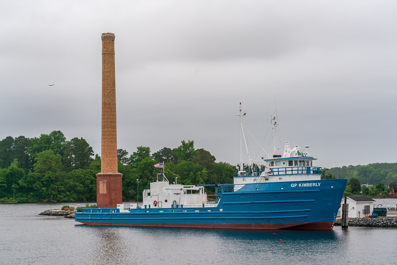 GP Kimberly at the Morris_Fisher Stack.