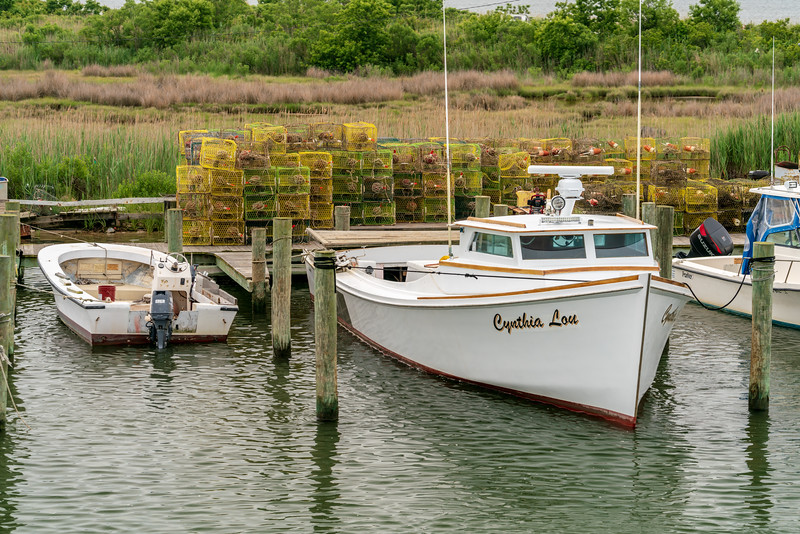 Cynthia Lou deadrise crab boat.