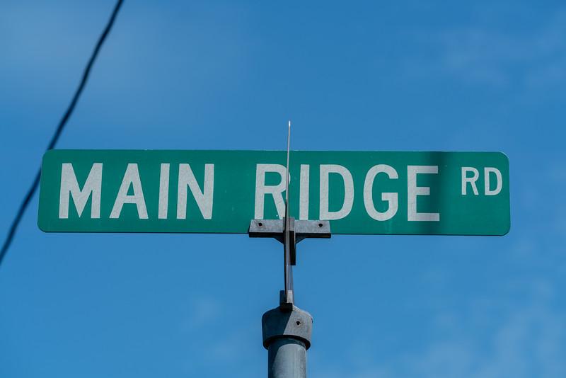 Main Ridge Road