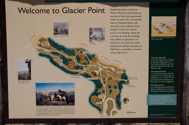 Next stop was Glacier Point, a spectacular spot.