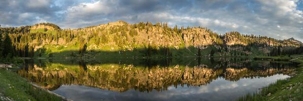 Reflection on Tony Grove Lake