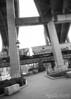 Overpasses in Shockoe Bottom