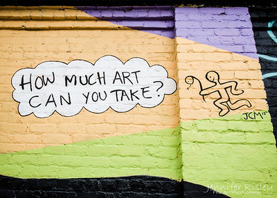 How Much Art Can You Take?