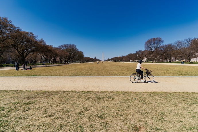 Washington DC In Wide Angle, Photos During Lockdown