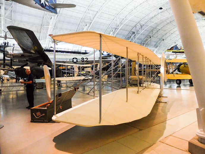 wright flyer udvar hazy