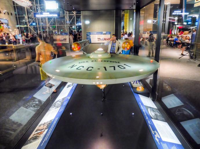 Star Trek Starship Enterprise Studio Model air and space