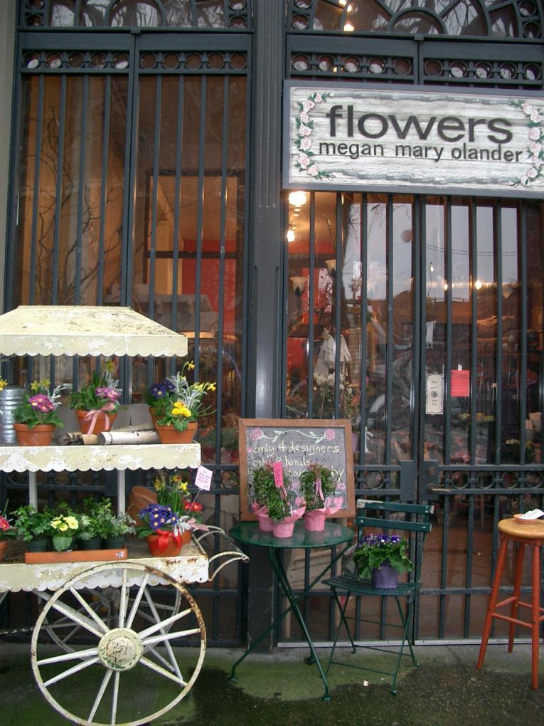 megan mary olander flower shop seattle