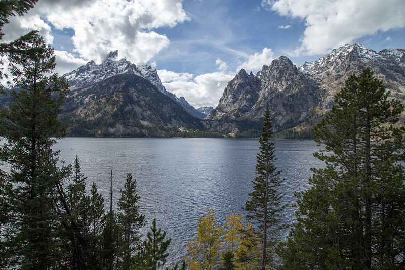 Jenny Lake and the Tetons