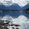 Jackson Lake and the Tetons