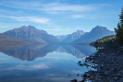 Lake McDonald reflections, Glacier National Park