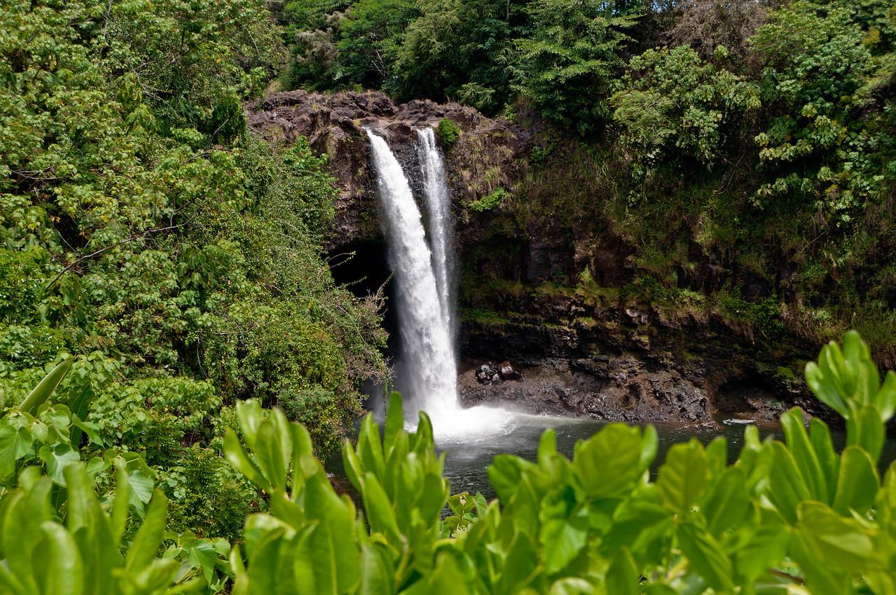 Waterfall on the Volcano Tour on the Big Island, Hawaii