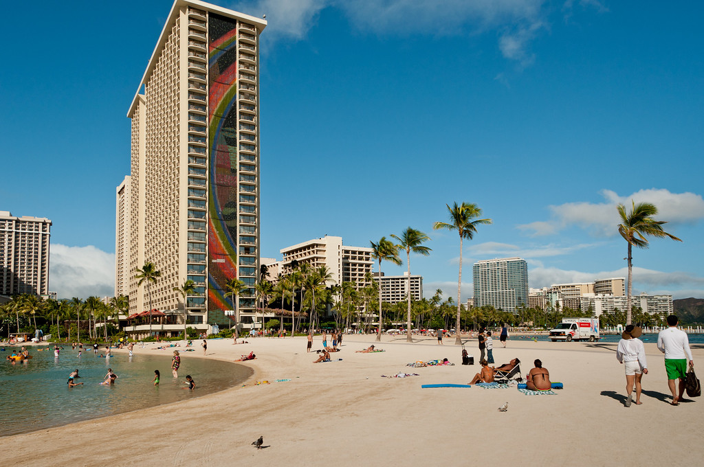 Waikiki Beach, Oahu, Hawaii