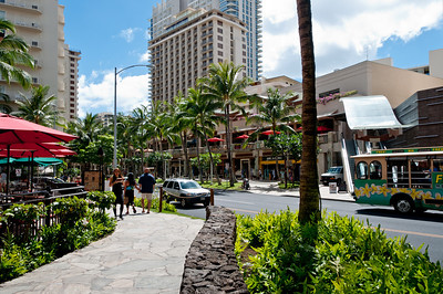 Downtown Waikiki, Hawaii