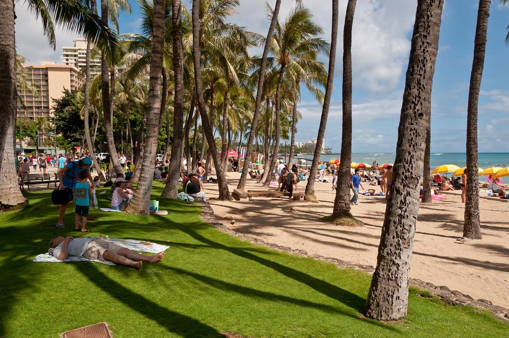 Waikiki Beach, Oahu, Hawaii