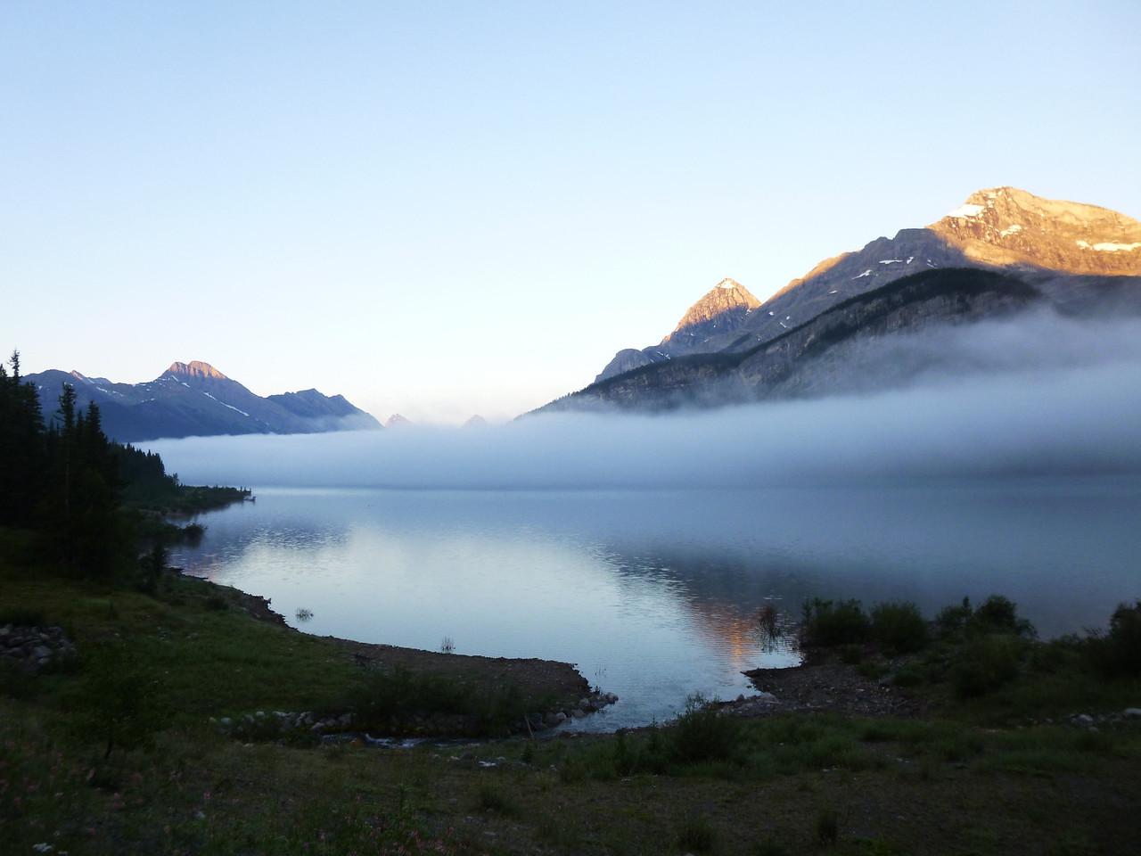 Mist on Spray Lakes