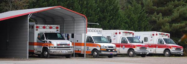 """Former EMS Ambulances"""