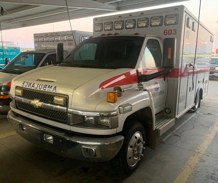 """""""Ambulance 603"""""""