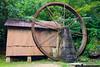 Old mill at Moravian Falls