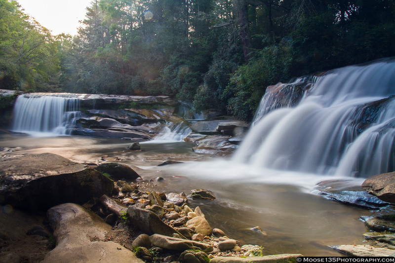 French Broad and Shoal Creek Falls