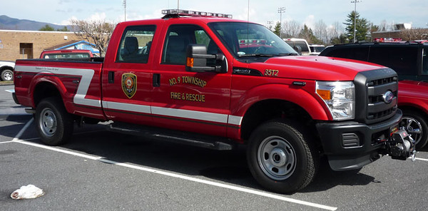 """35-Truck 2""<br /> 2012 Ford F-350<br /> Support Unit<br /> <br /> Andrew Messer Photo"
