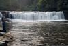 Fishing near Hooker Falls