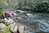 Shooting the rapids!
