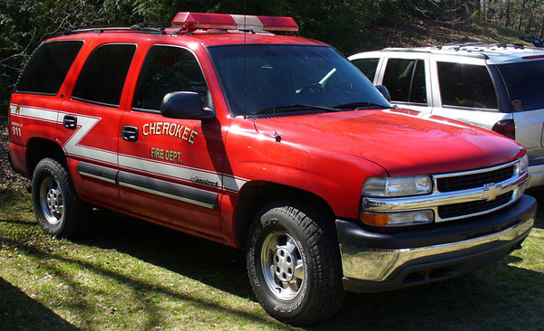 """""""Former Unit 2""""<br /> 2000 Chevrolet Tahoe<br /> Fire Investigations Unit<br /> <br /> Now serves Fairview, NC as """"Car 3""""<br /> <br /> Andrew Messer Photo"""