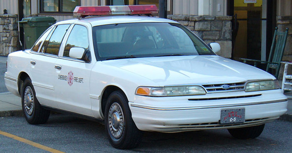 """""""Former Car 5""""<br /> 1990's Ford Crown Victoria<br /> Support Unit<br /> <br /> Andrew Messer Photo"""