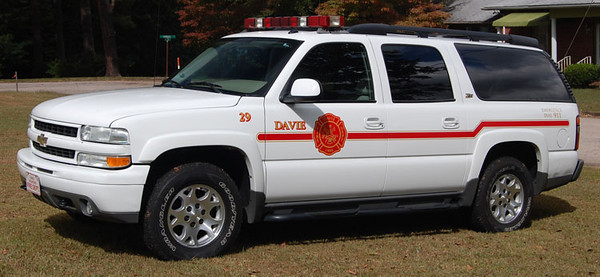 """Unit 29""<br /> 2000's Chevrolet Suburban 1500<br /> Support Unit<br /> <br /> Andrew Messer Photo"